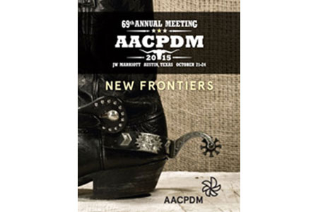 AACPDM Annual Meeting 2015