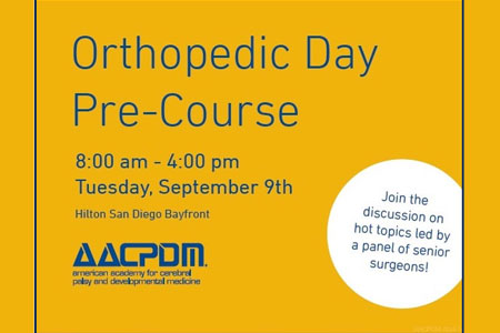 Orthopedic Day Pre-Course AACPDM